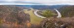 Вид с горы Тирментау на излучину реки Белой. Фото Г.Сухарев