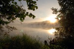 Восход на озере Светлояр (фото А.Грозы)