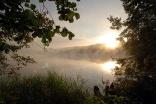 Восход на озере Светлояр (фото А. Грозы)