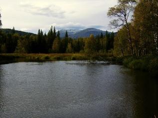 Гора Ямантау и река Большой Инзер