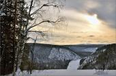 Зима в заповеднике. Фото И. Исламгазин