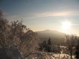Зимний вечер. Фото В. Лейриха