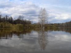 Исток из озера Нургуш. Фото Целищевой Л. Г.