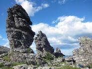 Камни-останцы. фото Н. Зенковой