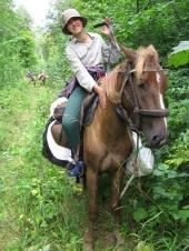 На конном маршруте
