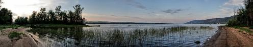Панорама затона на острове Середыш. Фото Лумир Кус